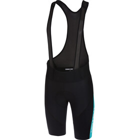 Castelli Velocissimo IV Bibshorts Men black/sky blue